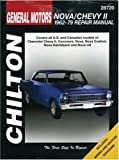 Chevrolet Nova and Chevy II, 1962-79, Chilton Automotive Editorial Staff, 080199067X