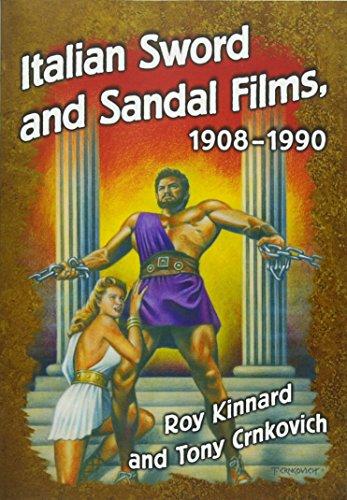Italian Sword and Sandal Films, - 1908 Poster