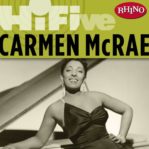 Amazon carmen mcrae finest hour carmen mcrae mp3 downloads rhino hi five carmen mcrae live stopboris