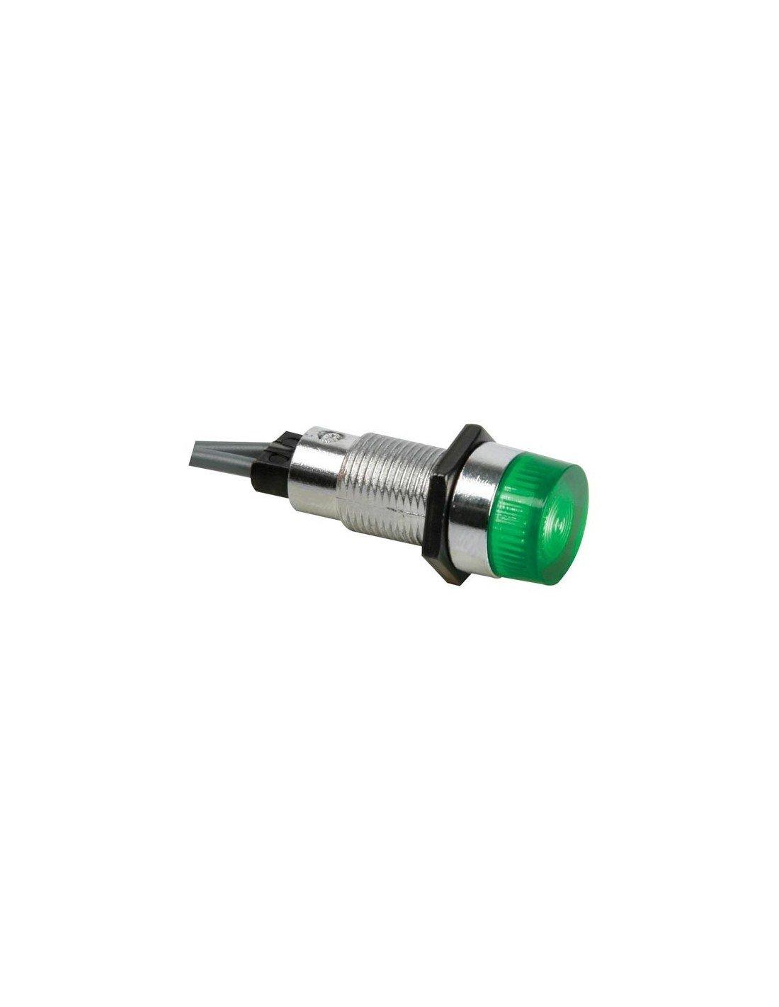 VS Electronic 124015 Signalleuchte, 13 mm, 12 VDC, Grü n VS Electronic Vertriebs GmbH