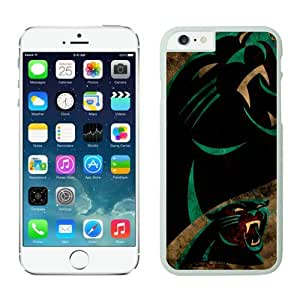 Carolina Panthers iPhone 6 PlusCases White 5.5 inches