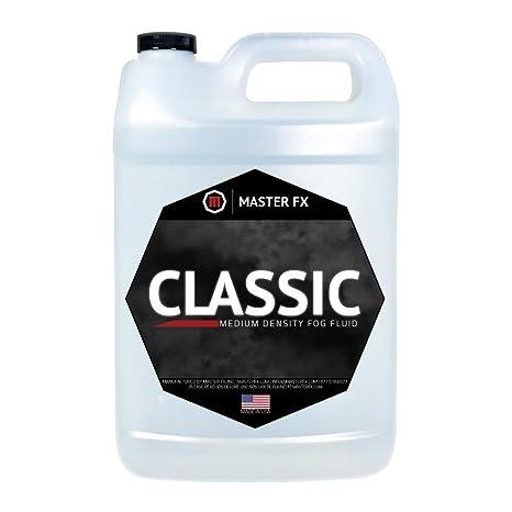 Classic Fog Fluid - Medium Density Fog Juice - 1 Gallon
