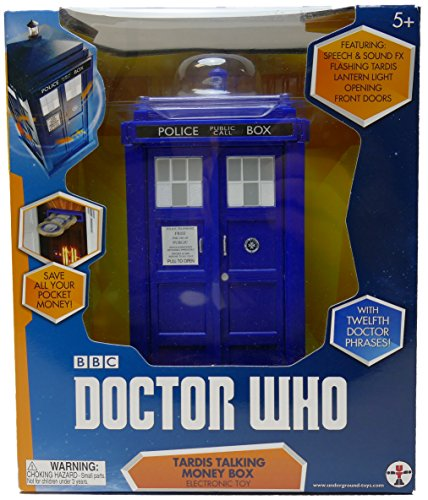 Doctor Who - Tardis 12th Doctor Talking Money Bank (Talking Bank)