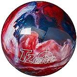 Brunswick TZone Patriot Blaze Bowling Ball (14-Pounds)