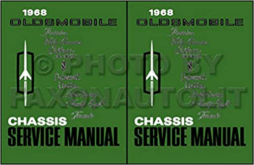 FULLY ILLUSTRATED 1968 OLDSMOBILE FACSTORY REPAIR SHOP ... on