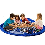 Children Play Mat Foldable baby Toy Storage Bag Kids Rug Child Toy Organizer for Lego 60 inch