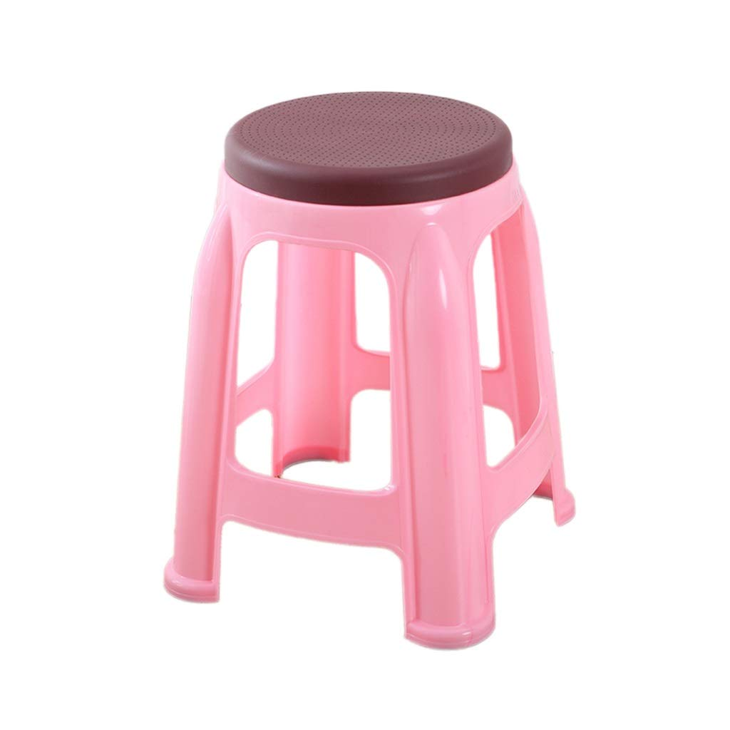 A CJXStep Stools Multifunctional Plastic Stack Stool, Stackable Easy To Store Home Stool Bar Stool Desk Stool Learning Stool Reception Chair (Size   G)