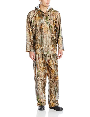 Arctic Shield Waterproof Coat (4004582 Onyx Realtree AP Adult PVC Rainsuit-Large)
