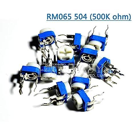 50PCS 5K ohm 502 Trimpot Trimmer Potentiometer Adjustable resistance