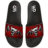 Cute 3D Skull Bat Print Summer Slide Slipper for Boy Girl Men Women Indoor Home Casual Home Sandals Shoes