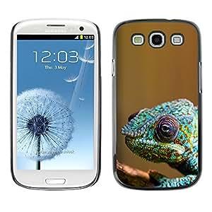 YOYO Slim PC / Aluminium Case Cover Armor Shell Portection //Cool Colorful Chameleon //Samsung Galaxy S3