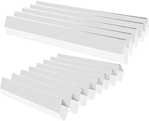 "Stanbroil Stainless Steel Flavorizer Bars Fit Weber Genesis I - IV & 1000-5000, Platinum I & II and More, Replacement Parts for Weber 7538 9813, Set of 13 (5 pcs 23-3/8"", 8 pcs 15-7/8"")"