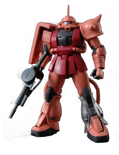 Gundam MS-06S Zaku II Char Custom Ver 2.0 with Extra Clear Body parts MG 1/100 Scale