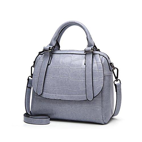 borse Tisdaini borsetta borse da tracolla spalla a borsa pelle borse Blu donna a in RZRXq