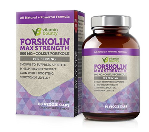 Vitamin Bounty Forskolin 500mg 60ct product image