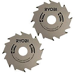 Ryobi Jm82k Biscuit Joiner (2 Pack) Replacement Blade # 671289001-2pk
