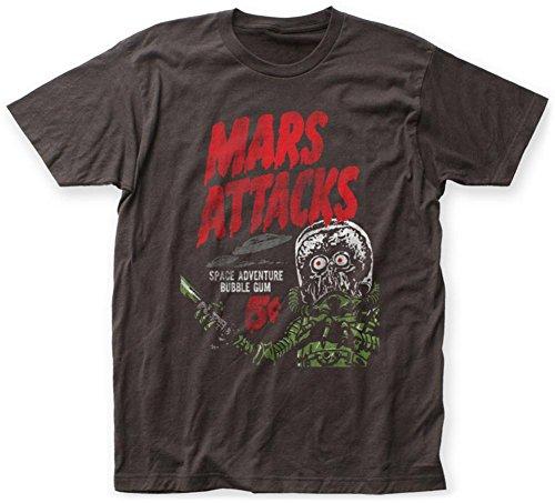 Mars Attacks- Space Adventure Bubble Gum T-Shirt Size L