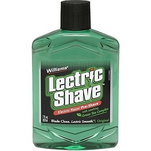 Lectric Shave Pre-Shave Original 7 oz (Pack of 5) (Best Pre Shave Lotion For Electric Razor)
