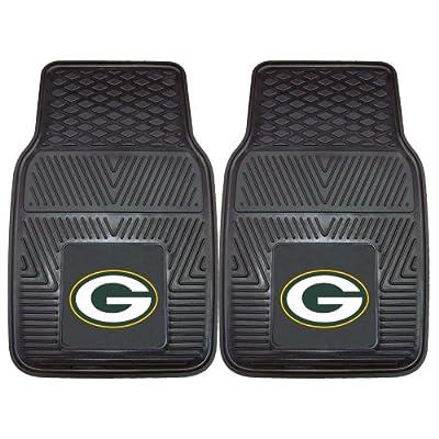 FANMATS NFL Green Bay Packers Vinyl Car Mat
