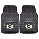 FANMATS NFL Green Bay Packers Vinyl Heavy Duty Car Mat