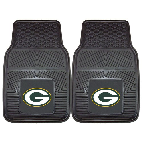 FANMATS NFL Green Bay Packers Vinyl Heavy Duty Car Mat Bay Floor