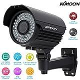 "KKmoon KKmoon KKMOON TP-E225iRE Caméra Etanche extérieure CCTV 1/3"" Sony CMOS 1200TVL 72IR LED IR-CUT 2.8 ~ 12 mm Zoom focale variable"