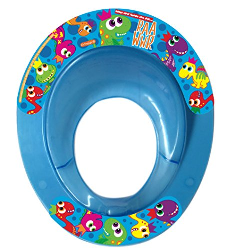 Mayware Entrenador de Baño Decorado Distroller para Niño, color Azul