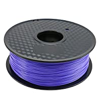 TIANSE Violet Blueviolet PLA 3D Printer Filament 1.75mm 1KG Spool Filament for 3D Printing, Dimensional Accuracy +/- 0.03 mm by TIANSE