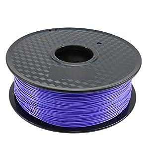 TIANSE Violet Blueviolet PLA 3D Printer Filament 1.75mm 1KG Spool Filament for 3D Printing, Dimensional Accuracy +/- 0.03 mm by TIANSE