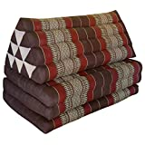 TWO IN ONE - Large XXL cushion with attached mattress extension - useable folded or unfolded, see fotos (82518)