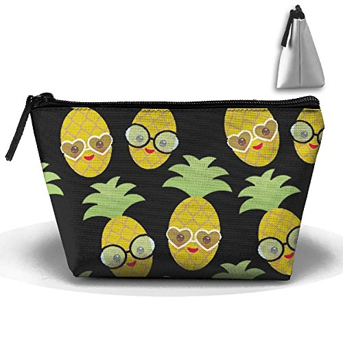 Pineapple Sunglasses Travel Bag Cosmetic Bag Storage Toiletries Cords And Chargers Zipper Pouch Bag - Sunglasses Overnight Shipping