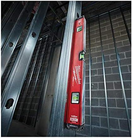 Milwaukee 4932459081 932459081 Rouge magn/étique Niveau Compact 60 cm