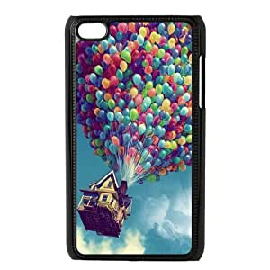 Colorful Balloons Snap-On Protector Hard Case Cover for Apple iPod Touch 4 / 4th Gen