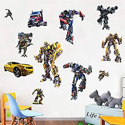 Assemble Peel and Stick Decals for Wall, Luggage and More. Transformers: Arts, Crafts & Sewing