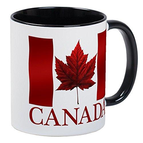 CafePress - Canada Flag Souvenirs Canadian Maple Leaf Gifts Mu - Unique Coffee Mug, Coffee Cup