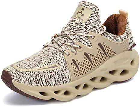 Mens Leisure Sneakers Shoes Outdoor Running Sports Fitness Gym Non-slip Casual B