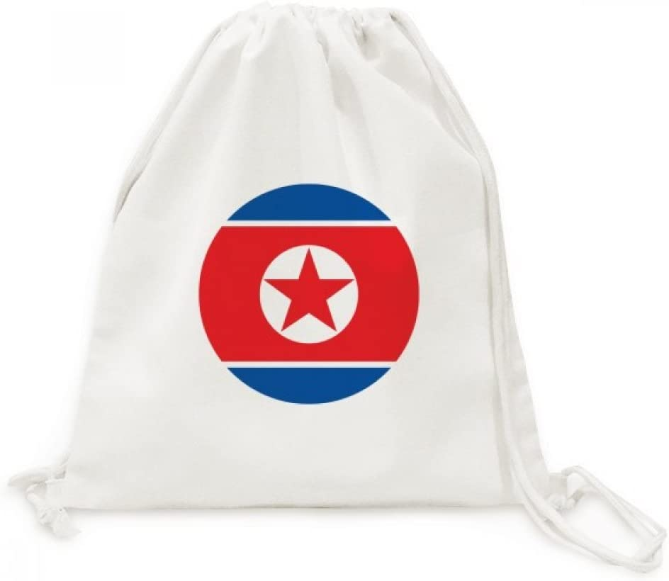 Austria National Flag Europe Country Symbol Canvas Drawstring Backpack Travel Shopping Bags