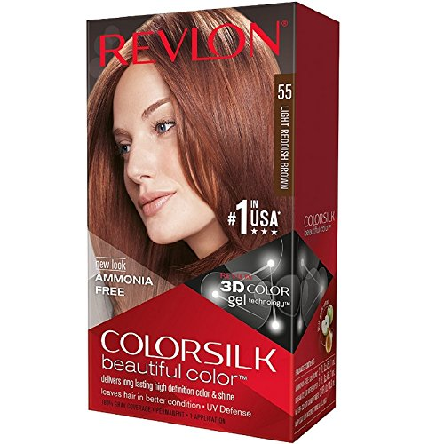 Colorsilk Permanent Haircolor - Light Reddish Brown (55/5RB) (Quantity of 5)