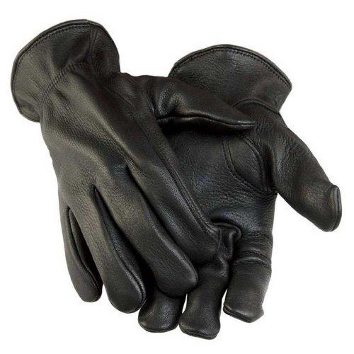 Northstar Men's Black Deerskin Gunn Cut Gloves (Unlined) 011B (S)