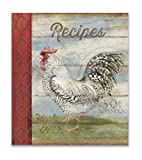 Recipe Binder Set with Plastic Page Protectors and