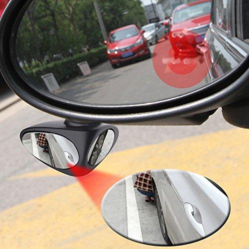 OurLeeme 360 /â/€/‹/â/€/‹dellautomobile di rotazione registrabile della zona morta specchio retrovisore per sicurezza Parcheggio
