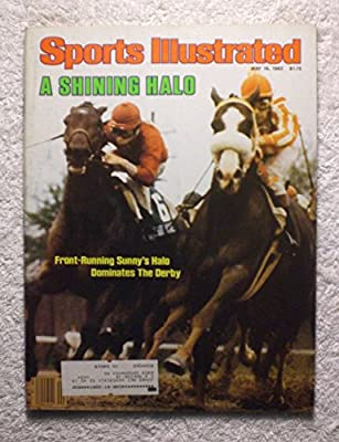 Sunny's Halo - 1983 Kentucky Derby Winner - Sports Illustrated - May 16, 1983 - Horse Racing - SI-2