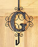 The Lakeside Collection Monogram Wreath Hanger - G