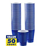 Amscan Bright Royal Blue 436801.105 Plastic Cups