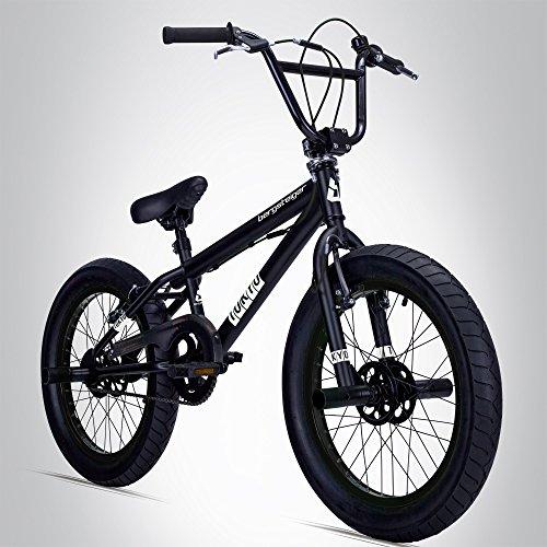 Bergsteiger Tokyo 20 Zoll BMX, Fatbike, 360° Rotor-System, 4 stahl Pegs, Kettenschutz, Freilauf