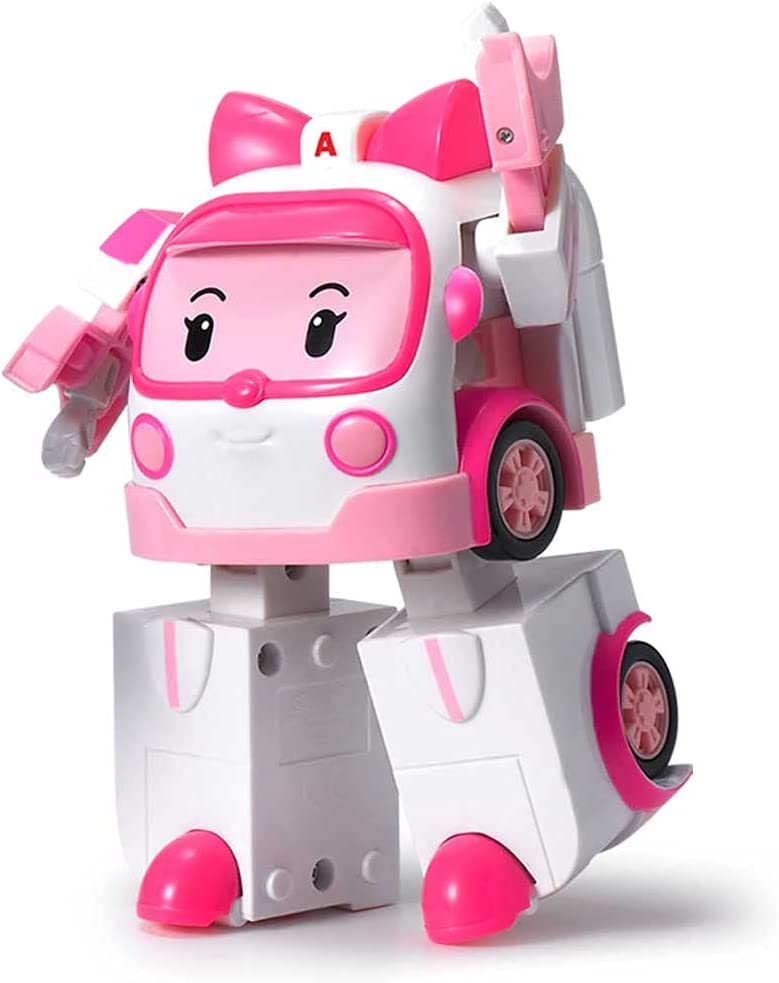 Amber Robocar Poli Transforming Robot, 4