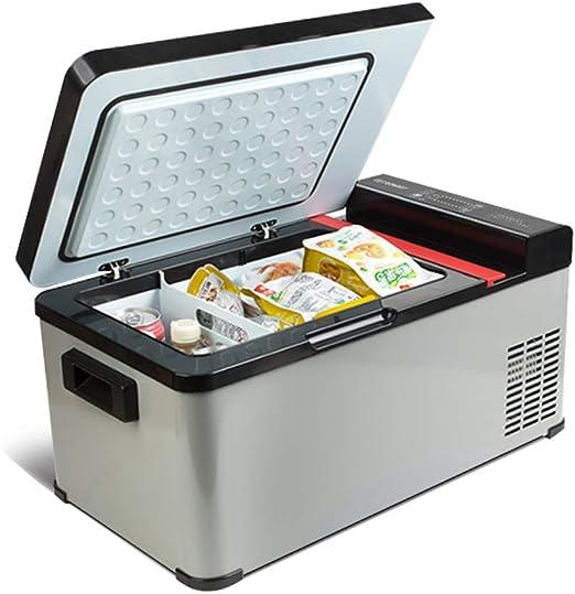 JIE. Coche Refrigerador-Refrigeración Coche Compresor de Doble Uso ...