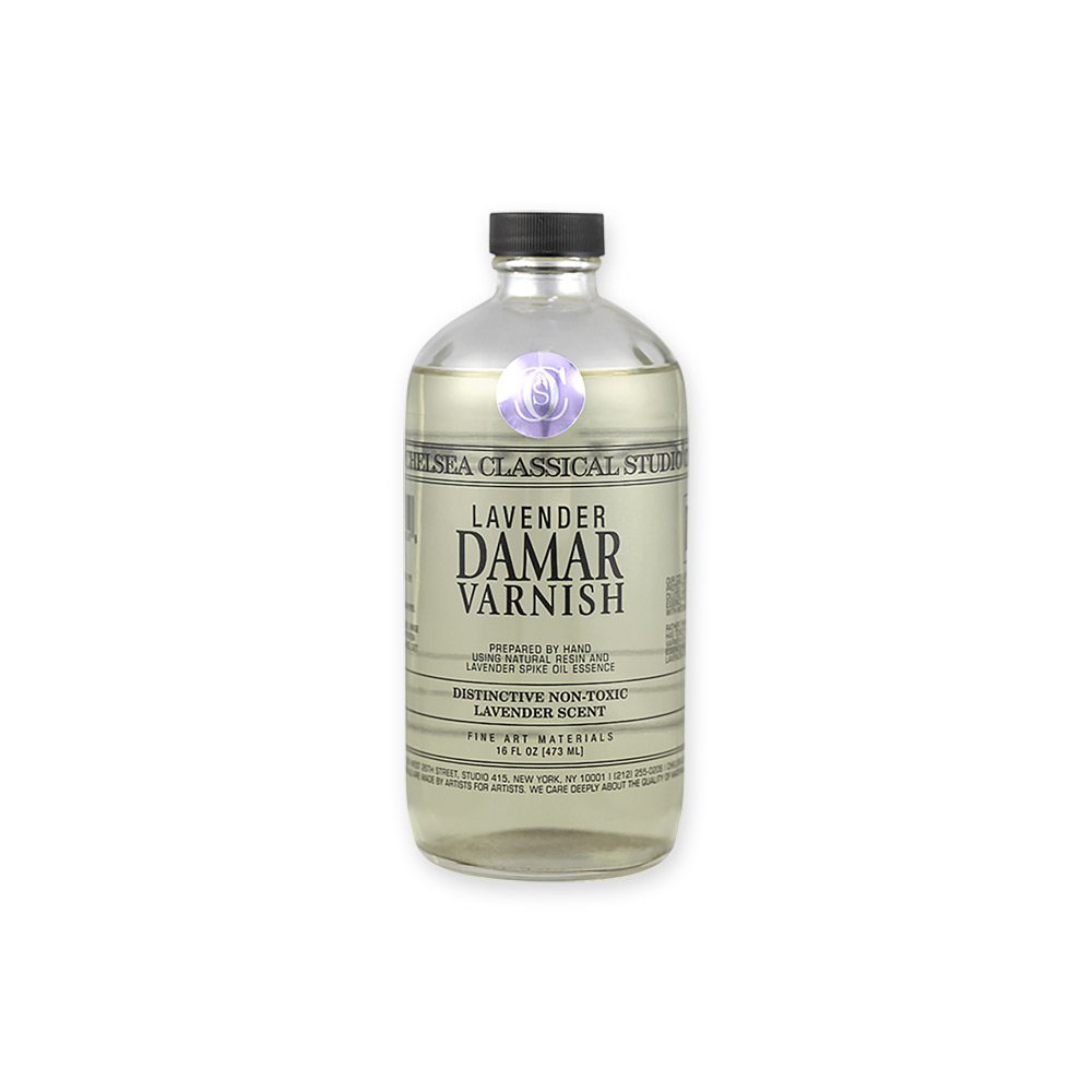 Chelsea Classical Studio Medium Lavender Damar Varnish 16oz by Chelsea Classical Studio