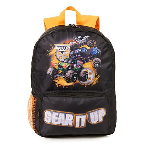 Monster Jam Canvas Backpack