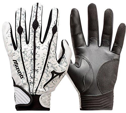 Mizuno Youth Vintage Pro Batting Gloves, Digi Camo, Large (Bat Gloves)